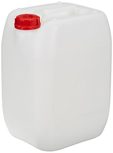 hünersdorff 426401 Industrie-Kanister 20 Liter, HD-PE, naturfarben