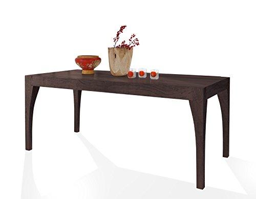 SAM Esszimmertisch Organic 4614 in Tabak aus Akazie, Tisch in 180 x 100 cm, widerstandsfähige Oberfläche, pflegeleicht