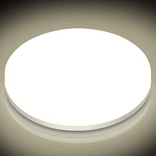 LED Deckenleuchte Rund 24W , Oraymin 2400LM IP54 Wasserfest Badlampe, 4000K Neutralweisse LED Deckenlampe für Balkon,Wohnzimmer,Schlafzimmer,Flur, Küche,160 ° Abstrahlwinkel,ø27.8CM