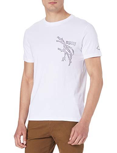 REPLAY M3368 Camiseta, Blanco (001 White), XXL para Hombre