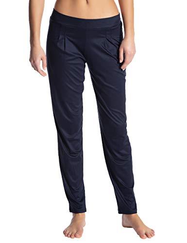 CALIDA Damen I Love Nature Schlafanzughose, Blau (Dark Lapis Blue 339), Medium (Herstellergröße: M)
