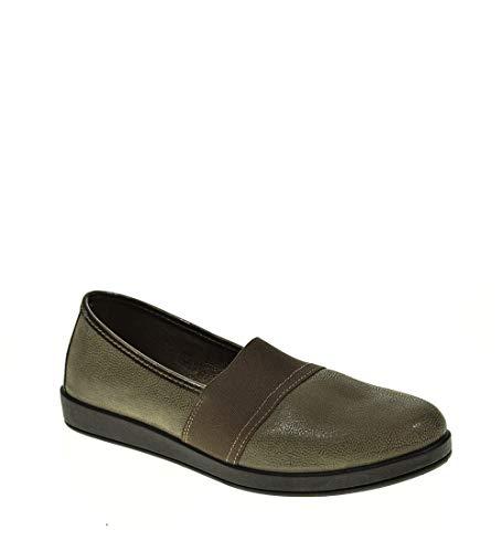 Zapato Plano - Mujer - Gris - momem - 00364