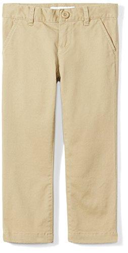 Amazon Essentials Plus Uniform Chino Pants, Caqui, 14(P)