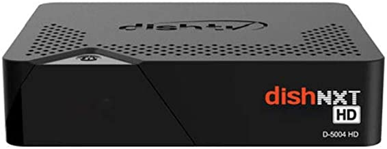 Dish TV HD Set Top Box with 1 Month Secondary Pack (Black)