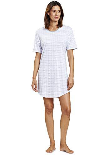 Rösch Damen Nachthemd im grafischen Minimalprint - Smart Casual Ivonne, 1203085 44 Graphic Minimal