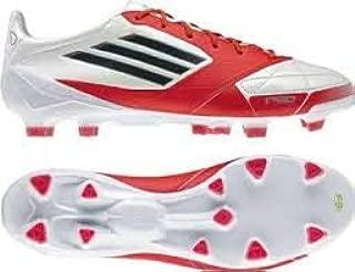 adidas Adizero TRX FG W Leather Soccer Cleat White/Red/Black Size 6