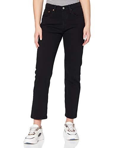 Levi's 501 Crop Jeans, Black Heart, 26W / 26L Donna