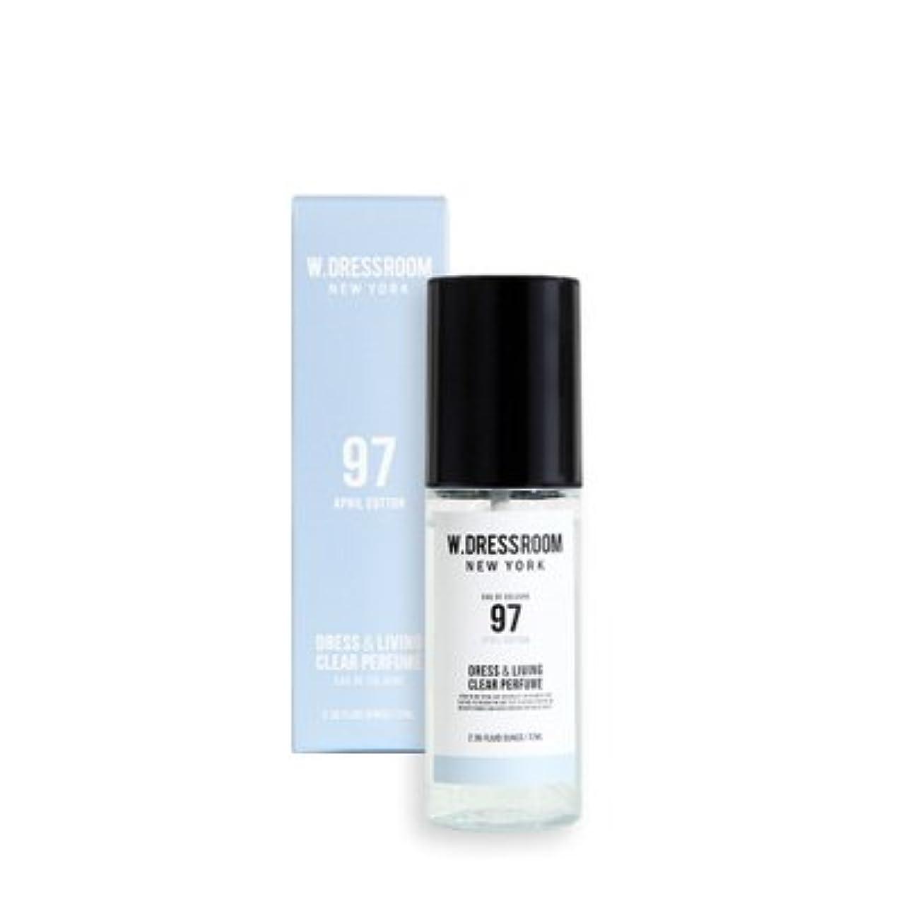 ランドリー聴く部【国内発送】【W.DRESSROOM】ダブルドレスルーム ドレス&リビング クリア パフューム 70ml / W.DRESSROOM Dress Living Clear Perfume 70ml (#No.97 April Cotton)