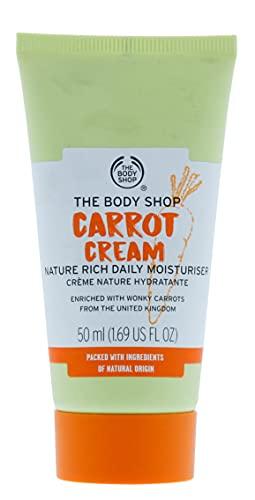 The Body Shop Crema de zanahoria natural rica hidratante diario