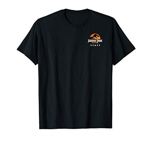 Jurassic Park Ranger Staff Uniform Front And Back T-Shirt