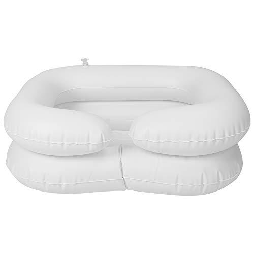 SANON Opblaasbare Shampoo Basin Kit voor Ouderen Gehandicapten Haar Wassen Tool Patiënt Opblaasbare Shampoo