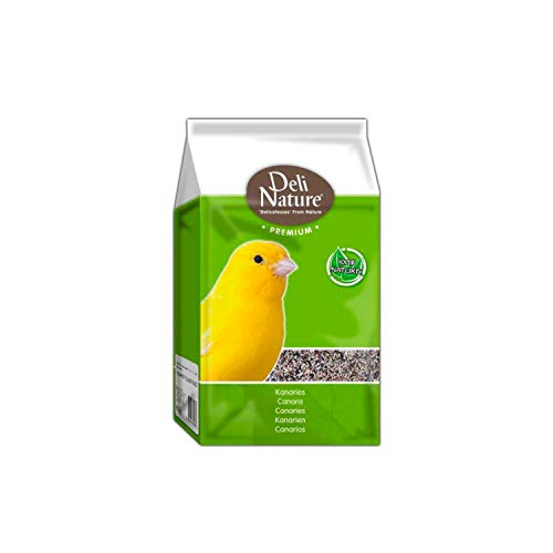 Deli Nature KANARIENVOGEL-Futter Premium 4 kg Futtermischung Kanarien