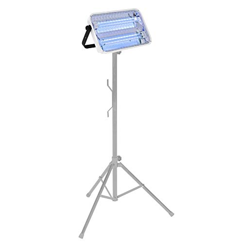 LENA UVC Strahler 72 Watt mit Teleskop-Ständer | UV Light Sterilization Lamp | UVC Desinfektionslampe | keimtötende UV-C Lampe Strahlen gegen Viren Bakterien | Sterilisation Lampe
