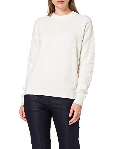 BOSS C_Fakenna 10231415 01 Jersey, Color Blanco Abierto, M para Mujer