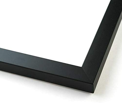 IM AMELIA 40x20 100% quality warranty Black Wood Picture Front an Max 81% OFF Frame Acrylic with -