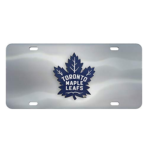 Toronto Maple Leafs NHL Diecast 3D Logo License Plate