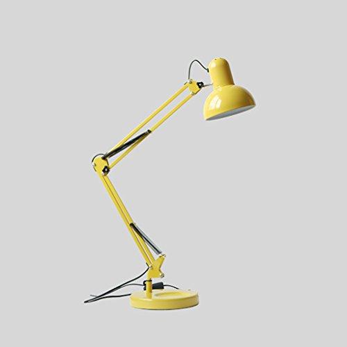 Bonne chose lampe de table Lampe de chevet créative de chambre à coucher de chambre Bureau d'étude de salon simple Lampes d'apprentissage de protection des yeux à LED