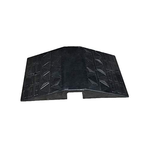 JNMDLAKO Rampas de Puerta, rampas de umbral duraderas de Goma Rampas de Puente de umbral portátiles adecuadas para Carro de Silla de Ruedas de Scooter (tamaño: 40 * 70 * 11 cm)