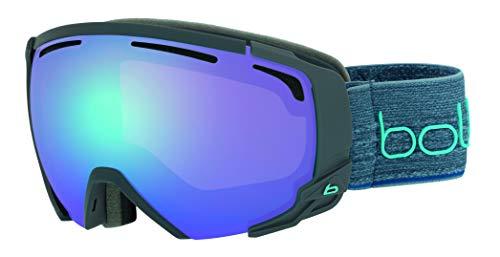 Bollé Erwachsene Supreme Otg Skibrillen, Matte Dark Grey & Blue, Medium/Large