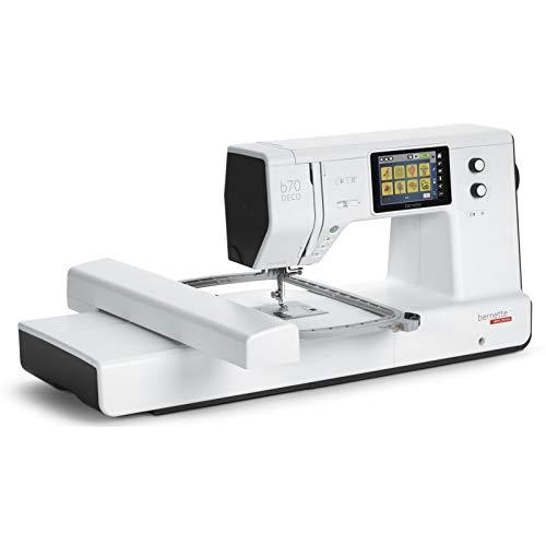 Bernette B70 Deco - Máquina de bordar con módulo de bordado, incluye software de bordado, rotulación y edición para una creatividad aún mayor
