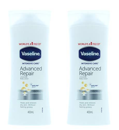 Vaseline Soins Intensifs Réparation Avancée 400Ml - Lot De 2