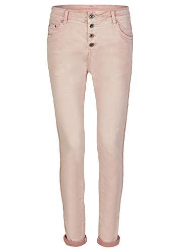 HEIMATLIEBE Damen Boyfriend Jeans mit Knopfleiste