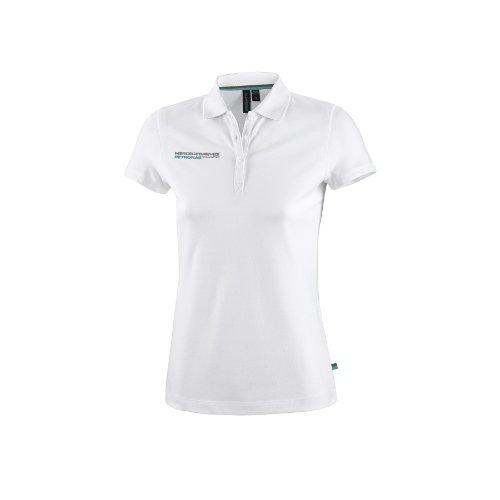 MERCEDES AMG PETRONAS 6000051–100–219–Polo Shirt XS weiß