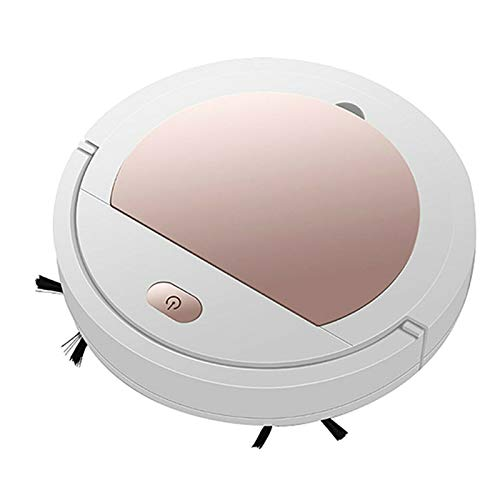 Sweeper Robot, USB Charging Ultra-Thin Smart Vacuum Cleaner, Sweeping Robot & Cleaning Machine for Home (Gold)
