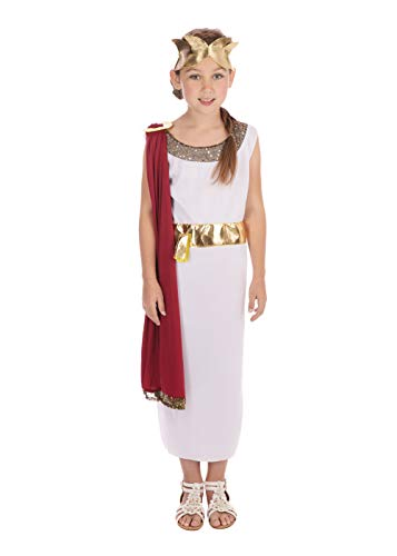 Bristol Novelty CC590 Costume de Déesse, Taille, Multicolore, 7-9 Years