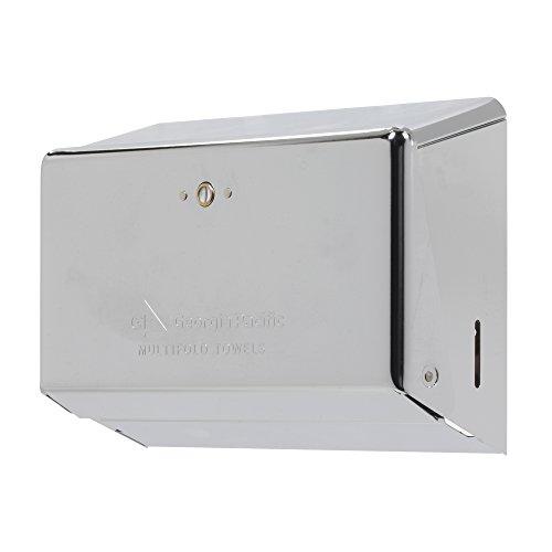 Multi-Fold Paper Towel Dispenser by GP PRO (Georgia-Pacific), Chrome, 54720,11.63' W x 4.25' D x 8.50' H