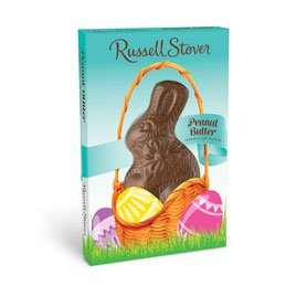 Russell Stover Milk Chocolate Peanut Butter Easter Rabbit, 1.5 oz. by Russell Stover