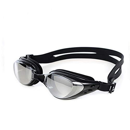 Vientiane Gafas Ajustables para Nadar,Gafas de Natación no Fugas Anti-Niebla y Protección UV con Caja de Almacenamientopara Mujeres Hombres Adultos Jóvenes