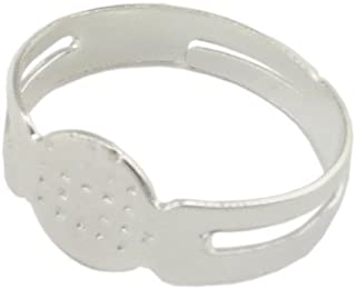 Aylifu 20 STK runde Form flach Kristall Anh/änger Glas Charme Anh/änger mit Karabinerverschluss f/ür Bettelarmband 10 Farben