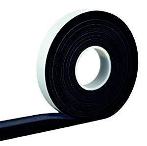 4,3 m Komprimierband Acryl 300 20/8, anthrazit Bandbreite 20 mm, expandiert von 8 auf 40 mm, Quellband/Fugendichtband/Kompriband/Fugenabdichtung/Fensterdichtband/Dichtungsband