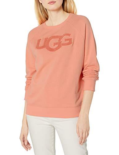 UGG - Sudadera con cuello redondo para mujer -  Rosa -  X-Large