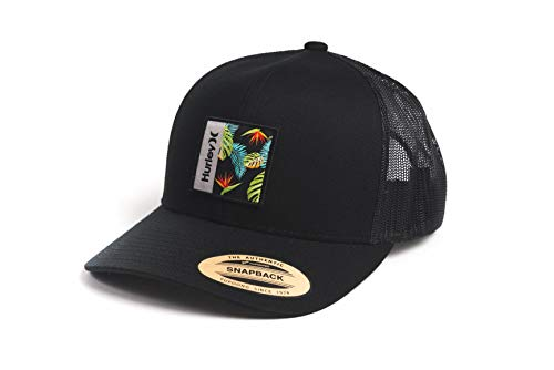 Hurley M Seacliff Hat Gorra, Hombre, Black/Olive, 1SIZE