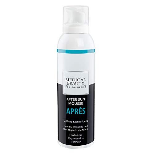 MEDICAL BEAUTY® After Sun Mousse Aprés   Kühlende & beruhigende After-Sun-Feuchtigkeitspflege   Inhalt: 150 ml