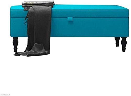 CHU N1 Fuß Hocker, Polster Schlafzimmer Sitzbank mit Stauraum for Bettwäsche Window Seat Toy Box 39