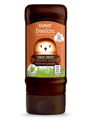 Sweet Freedom Shot Orange Hot Chocolate Spice Liquid, 320 g