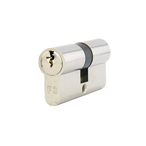 ISEO F3 (GERA 5900) Doppelzylinder Halbzylinder Schließzylinder inkl. 3 Schlüssel bzw. 5 Schlüssel - ohne Sicherungskarte - Standardzylinder Türschloss - 21/21-3 Schlüssel