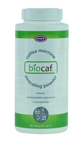 Biocaf Coffee and Espresso Machine Descaling Powder, 900 g Jar