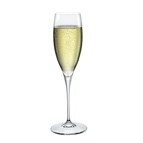 Calice Premium 3 Champagne flûtes 26 cl Made en Italy Bormioli Lot de 6 pièces