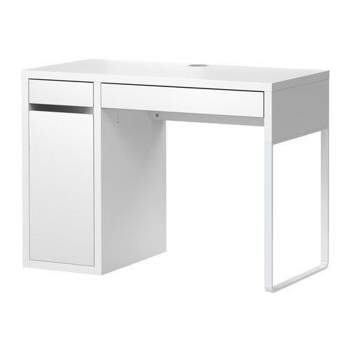 Ikea MICKE Escritorio en Blanco; (105 x 50 cm)