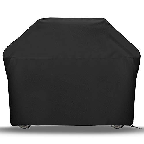 Cubierta para Barbacoa 145X61X117cm Impermeable 210D Oxford Funda Protectora para Barbacoa Protector para Barbacoa Funda para Barbacoa para al Aire Libre Resistente al Desgarro Anti-Viento/UV