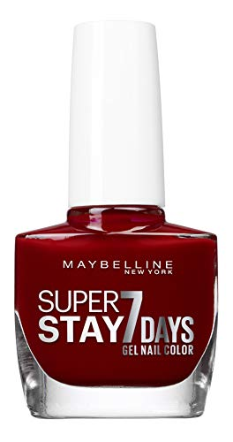 Maybelline New York Superstay 7 Days Vernis à ongles longue tenue 501 - Rouge Laque