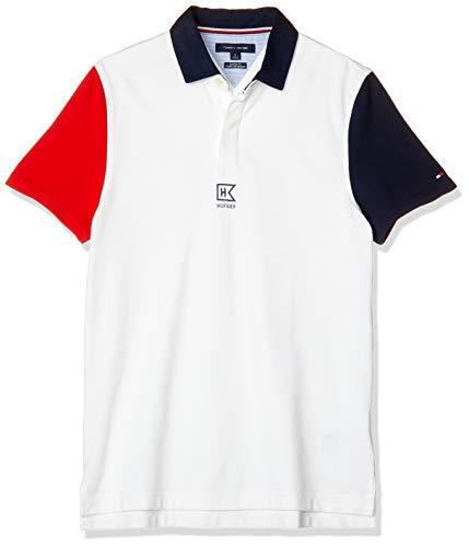 (トミーヒルフィガー) TOMMY HILFIGER ポロシャツ 78E8455 S ホワイト