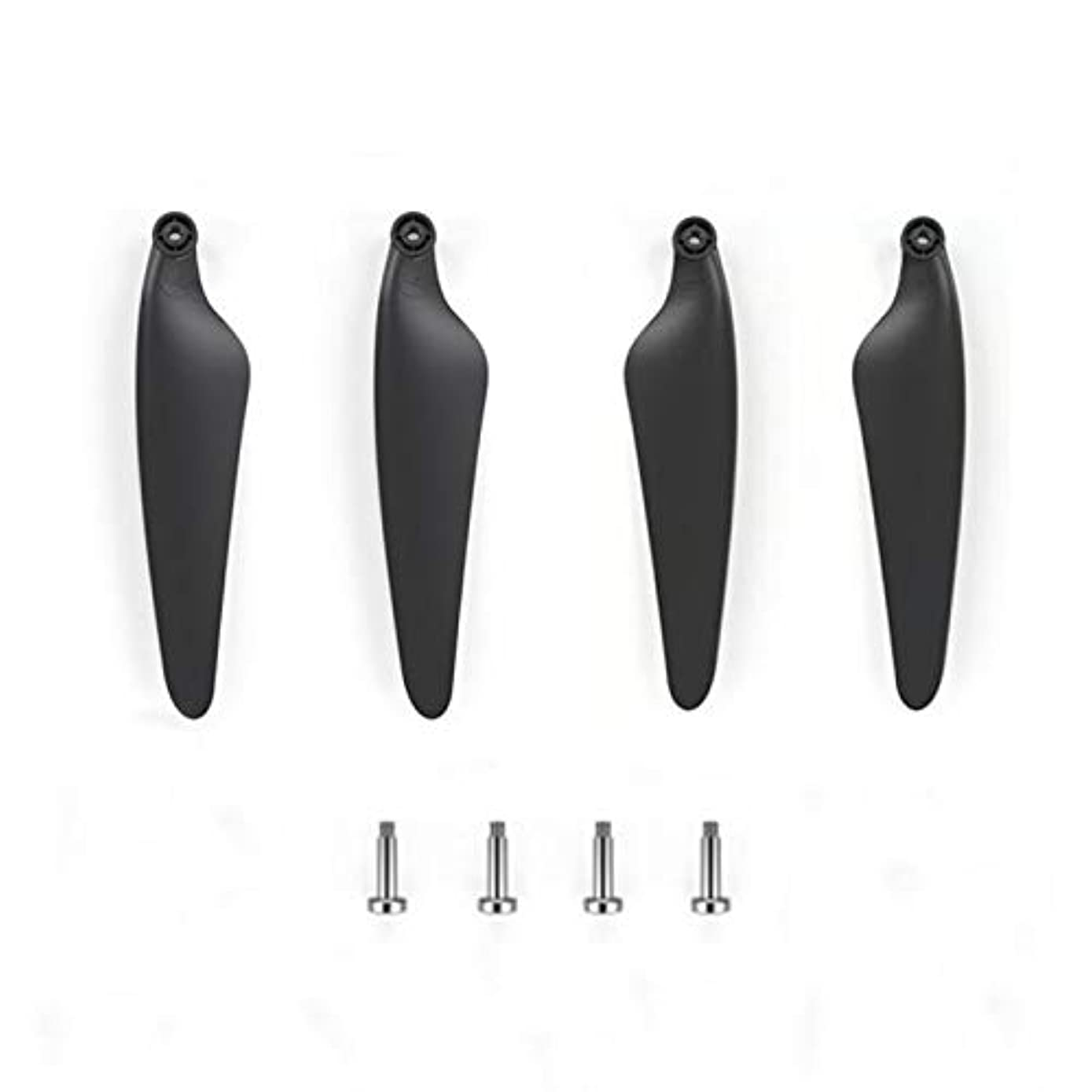 Propeller Set - Durable and Lightweight Parts Crash Pack Propeller for Hubsan Zino H117S GPS RC Drone (4Pcs) (?? Black)