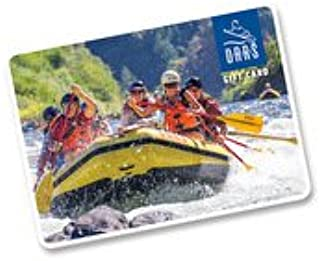 OARS Whitewater Rafting Gift Card