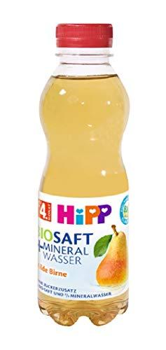 HiPP Bio-Saft Mineralwasser Milde Birne, 6er Pack ( 6 x 500 ml )