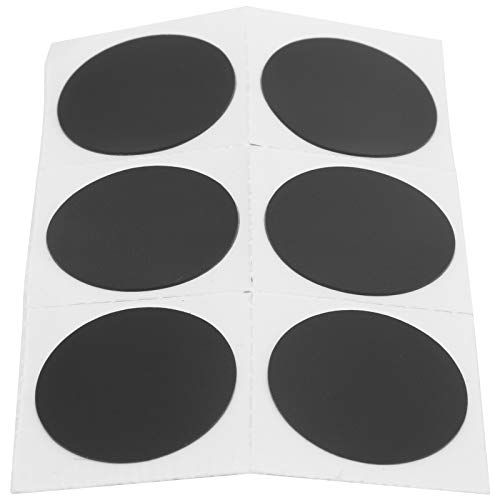 Bike Tire Patches, Self-adhesive Bicycle Inner Tube Repair Patch Kit Bike Tube Puncture Glueless Rubber Patches with Rasp